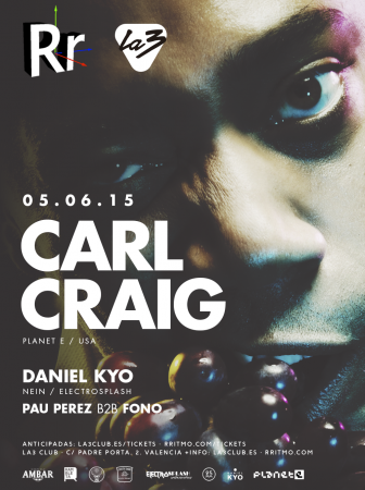 Carl Craig at Rritmo w/ Daniel Kyo – June 5, 2015