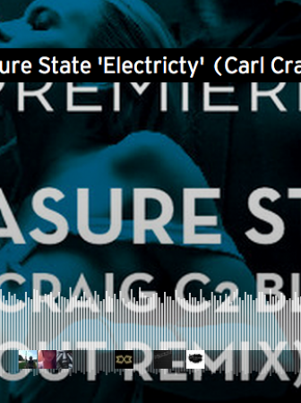 Premiere: Pleasure State 'Electricty' (Carl Craig C2 Blowed Out Remix)