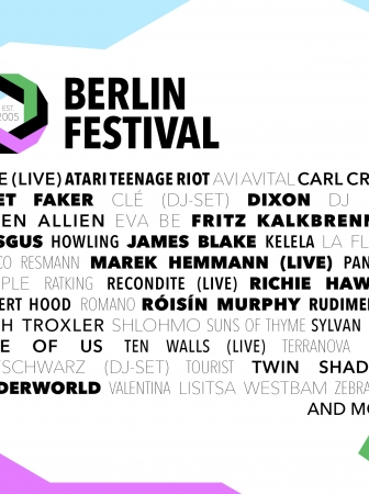 Berlin Festival May 29th – 31st 2015