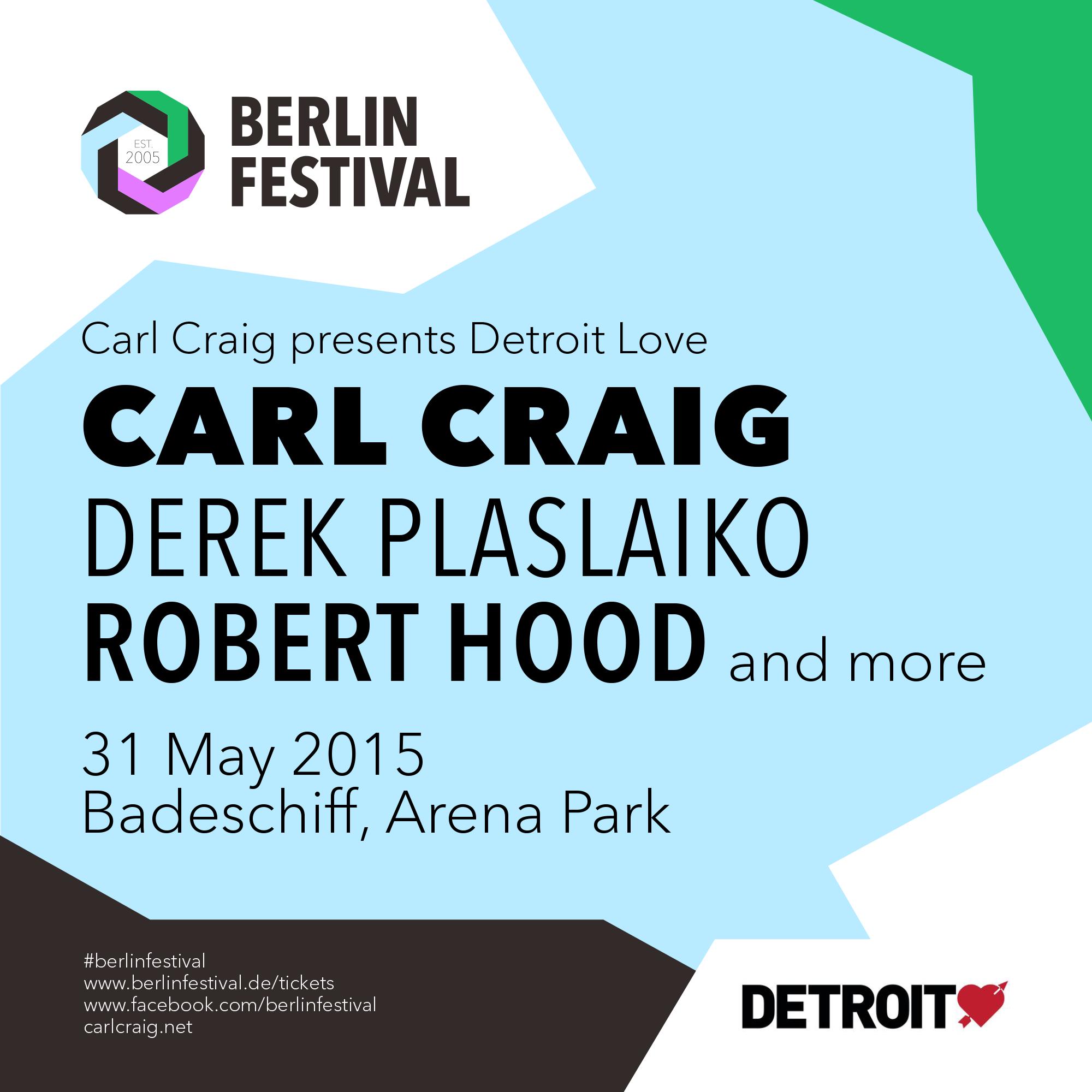 Detroit Love at Berlin Festival