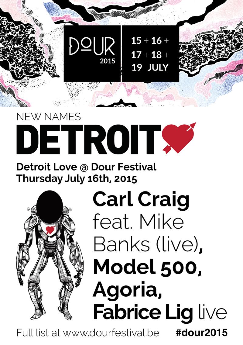 Detroit Love at Dour Festival