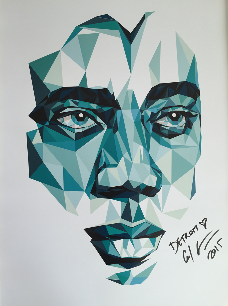 Carl Craig A1 Art Print signed & numbered