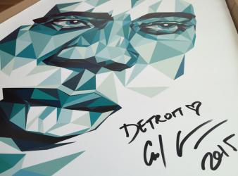 Carl Craig A1 Art Print signed & numbered